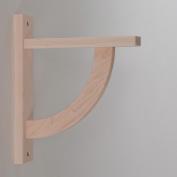 Wood Shelf Bracket - Maple Convex 10