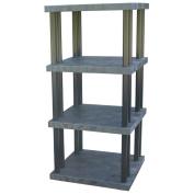 DuraShelf® Solid Top 36 36 4-Shelf System