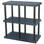 DuraShelf® Solid Top 48 24 3-Shelf System