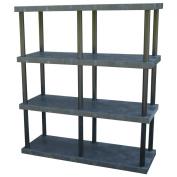 DuraShelf® Solid Top 66 24 4-Shelf System