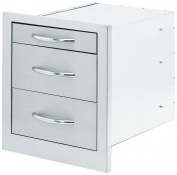 CalFlame BBQ08866-A 3 Drawer Storage