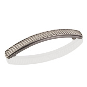 """4-13/16"""" Overall Length Zinc Die Cast Waved Cabinet Pull. Holes are 96mm c..."""