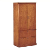 Belmont Lateral File Storage Cabinet Brown Cherry
