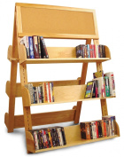 Catskill Craftsmen A-Frame Rack with Two Cork Boards and 6 Adjustable Shelves