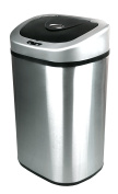 Nine Stars DZT-80-4 Touchless Stainless Steel 79.9l Trash Can