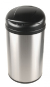 Nine Stars DZT-49-8 Infrared Touchless Stainless Steel Trash Can, 49.2l