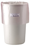 ACL Staticide 5075 Polyethylene Static Dissipative Waste Basket, Grey