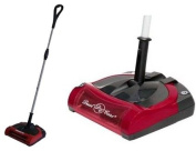 Carpet Sweeper Battery Operated 30cm Red