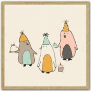 Greengift-Notes - Birthday Penguins