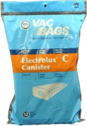 Aerus /Electrolux Style C Paper Bags, 12 Pack