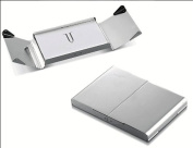 New - Ankora Silver Plated Business Card Case - V901B