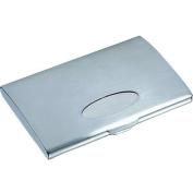 Mercury Brushed Business Card Case