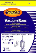 Eureka Style RR Vacuum Bags Microfiltration with Closure - 3 Pack