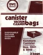 36 DESIGNED TO FIT KENMORE 5041/5045 VACUUM BAGS.