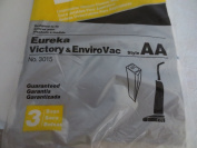 Vacuum Cleaner Bags ... Designed to fit Eureka Victory & EnviroVac ... Style AA ... 3 Bags