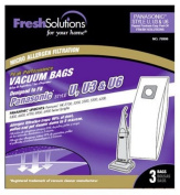 "Fresh Solutions 70306 Panasonic ""Type U"" Micro Filtration Vacuum Bags, 3-Pack"