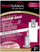 "Fresh Solutions 70372 Kenmore 128750cm Type U"" Upright Micro Filtration Vacuum Bags, 3-Pack"