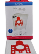 Miele Style F, J, M, H Vacuum Bags, 5 Bags and 2 filters