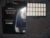 Riccar #RF-13 HEPA and Secondary filters for Pzazz and Moonlight