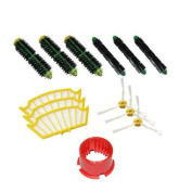 CIMC LLC Brushes & filters Replacement For iRobot Roomba 500 Series Pack Mega Vacuum Cleaner Accessory Kit 550 560 551