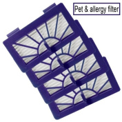 Neato XV-11 - Pet and Allergy Vacuum Cleaner filter Neato Robotic Pet & Allergy filter - Replacement For Neato 945-0048 filter - 4 Pack