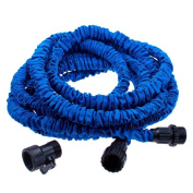 Blue Flexible and Expanding Garden Water Hose
