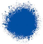 Professional Spray Paint Cobalt Blue Hue