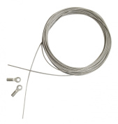 Lubricated Stainless Steel Replacement Cable for 120cm - 150cm Straightedge