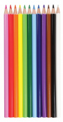 12-Piece Coloured Pencil Set