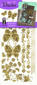 Stickers Gold Butterfly