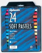Soft Pastels Basic 24-Colour Set