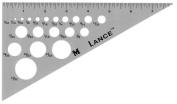 20cm Aluminium Triangle 30/60