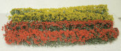 Architectural Model Red & Yellow Flowering Hedges