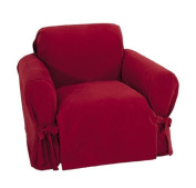 Classic Slipcovers Heavy Microsuede Chair Slipcover
