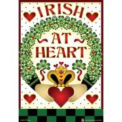 Garden Flags-Irish At Heart