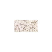 Pony Bead Big Value Pack 9mm 1000/Pkg-Opaque White