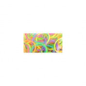 Loom Bands Value Pack 525/Pkg-Shimmer