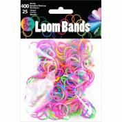 Loom Bands Assortment 425/Pkg-Tie-Dye