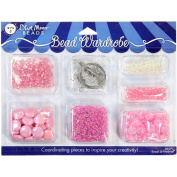 Bead Wardrobe Collection Beads-Pink Assorted