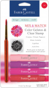 Mix & Match Gelatos & Clear Stamp Set-Red