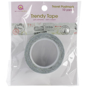 Travel Trendy Tape 15mm X 10yds-Tickets