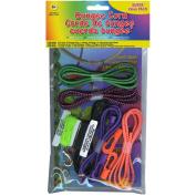 Bungee Cord Super Value Pack 5 Colours/Pkg 4.6m Total