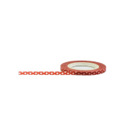 Little B Decorative Paper Tape 3mmX15m-Red W/White Dots