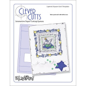 Clever Cuts Plastic Template-Layered Square
