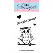 Hot Off The Press Acrylic Stamps 5.1cm x 8.3cm Sheet-Hoot Hoot