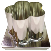 Yaley Metal Candle Mould, Flower, 10cm x 7.6cm