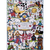 Nursery Rhymes Counted Cross Stitch Kit