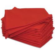 Hemmed Colour Dyed Kitchen Towels 46cm x 70cm 2/Pkg-Cherry Red