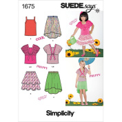 Simplicity 1675 Child's and Girls' Separates SUEDEsays Collection K5