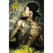 Trends International Unframed Poster Prints, Wiz Khalifa Tats
